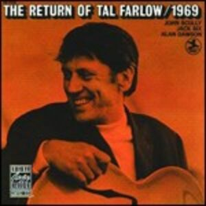 CD The Return of Tal Farlow di Tal Farlow