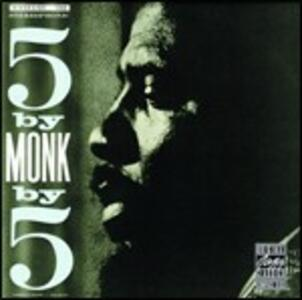5 By Monk By 5 - CD Audio di Thelonious Monk