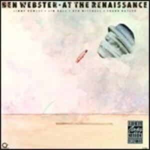 At the Renaissance - CD Audio di Ben Webster