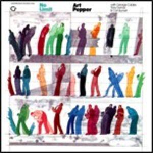 Foto Cover di No Limit, CD di Art Pepper, prodotto da Original Jazz Classics