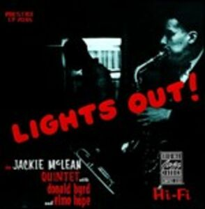 Foto Cover di Lights Out, CD di Jackie McLean, prodotto da Concord