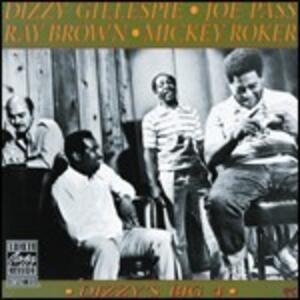 Dizzy's Big 4 - CD Audio di Dizzy Gillespie