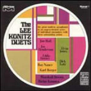 The Lee Konitz Duets - CD Audio di Lee Konitz