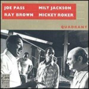 CD Quadrant Milt Jackson , Joe Pass , Ray Brown , Mickey Roker