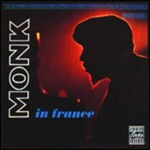 Foto Cover di Monk in France, CD di Thelonious Monk, prodotto da Concord