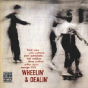 CD Wheelin' & Dealin' John Coltrane , Doug Watkins , Paul Quinichette , Arthur Taylor , Frank Wess