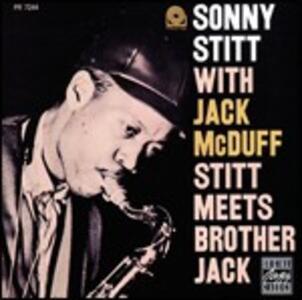 Stitt Meets Brother Jack - CD Audio di Jack McDuff,Sonny Stitt