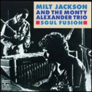 CD Soul Fusion Milt Jackson , Monty Alexander (Trio)