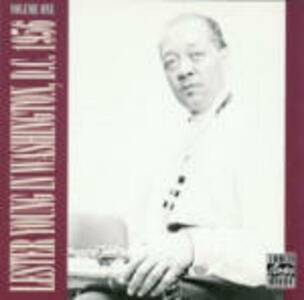 In Washington DC 1956 vol.1 - CD Audio di Lester Young