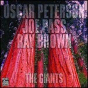 CD The Giants Oscar Peterson , Joe Pass , Ray Brown