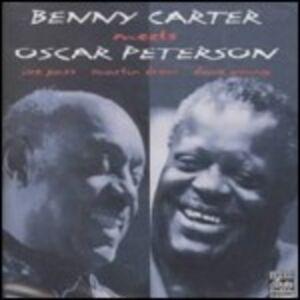CD Benny Carter Meets Oscar Peterson Oscar Peterson , Benny Carter