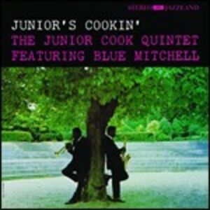 CD Junior's Cookin' di Junior Cook