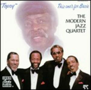 Topsy: This One's for Basie - CD Audio di Modern Jazz Quartet