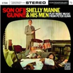 Foto Cover di Son of Gunn!!, CD di Shelly Manne, prodotto da Fantasy