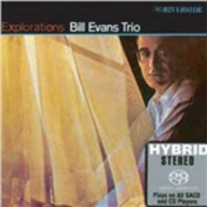 CD Explorations di Bill Evans (Trio)