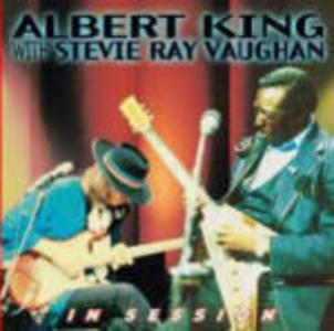 CD In Session Albert King , Stevie Ray Vaughan