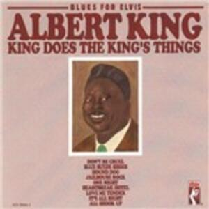 Blues for Elvis. King Does the King's Things - CD Audio di Albert King