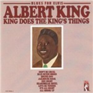 CD Blues for Elvis. King Does the King's Things di Albert King
