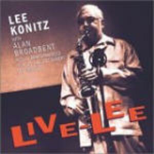CD Live-Lee Lee Konitz , Alan Broadbent