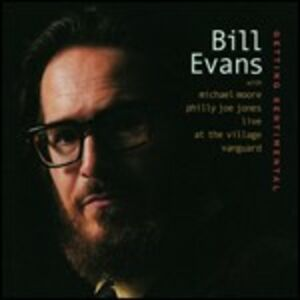 CD Getting Sentimental di Bill Evans