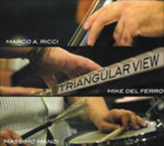 CD Triangular View Massimo Manzi , Marco Ricci , Mike Del Ferro