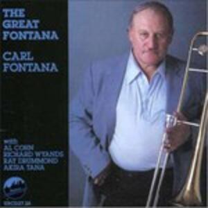 Great Fontana - CD Audio di Carl Fontana