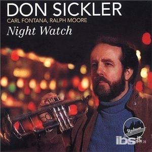 CD Night Watch Carl Fontana , Don Sickler , Ralph Moore