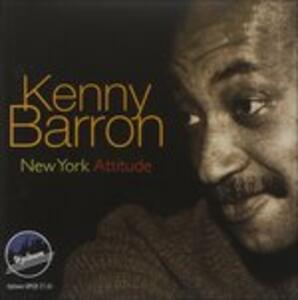 New York Attitude - CD Audio di Kenny Barron