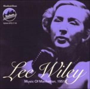 CD Music of Manhattan 1951 di Lee Wiley