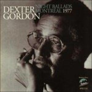 CD Night Ballads Montreal 1977 di Dexter Gordon