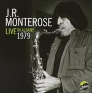 CD Live in Albany 1979 di J.R. Monterose