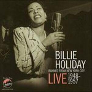 Foto Cover di Banned from New York City, CD di Billie Holiday, prodotto da Uptown