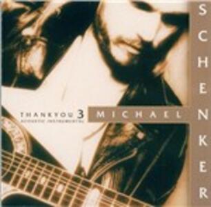 Thank You 3 - CD Audio di Michael Schenker