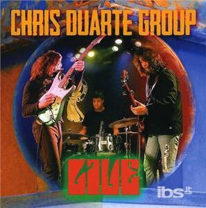 Live - CD Audio di Chris Duarte (Group)