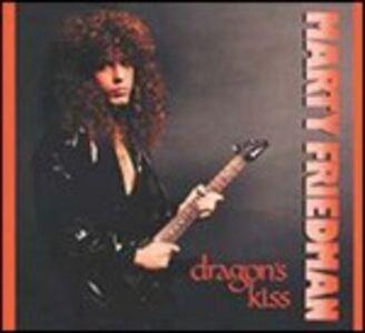 CD Dragon's Kiss di Marty Friedman