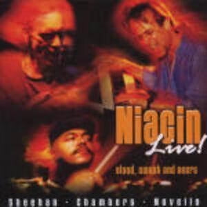 CD Live ! Blood Sweat and Beers di Niacin