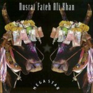 Foto Cover di Megastar, CD di Nusrat Fateh Ali Khan, prodotto da Import