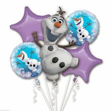 5 In 1 Frozen. Palloncino Bouquet Olaf