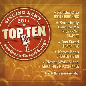 Singing News Top Ten - CD Audio