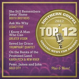 Top 12 Southern Gospel - CD Audio