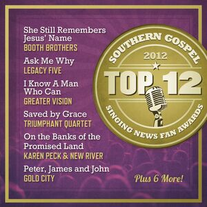 CD Top 12 Southern Gospel