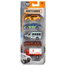 Matchbox - Matchbox Basic Car 5 Pack Asrt