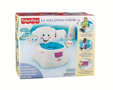 Giocattolo La mia prima toilette Fisher Price 0