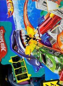 Pista Hot Wheels Sharkbite Bay P4358 - 10