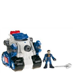 Giocattolo Veicolo base Robo-Police Fisher Price 0