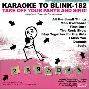 Karaoke To Blink 182 - CD Audio