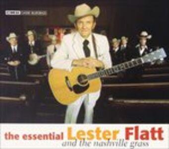 Foto Cover di Essential Flatt, CD di Lester Flatt, prodotto da Cmh