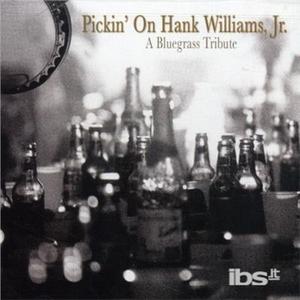 CD Pickin' on -Bluegrass Tri di Hank Williams Jr.