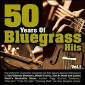 CD 50 Years of Bluegrass Hits