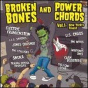 Foto Cover di Broken Bones & Power Chords, CD di  prodotto da Cross Check